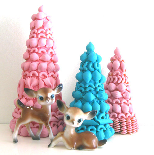 Pasta Christmas Trees Thewowdecor