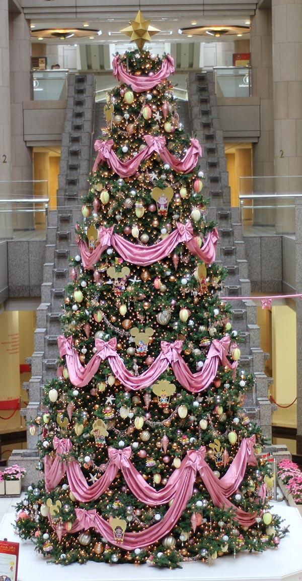 Pink Christmas Tree Decoration Thewowdecor