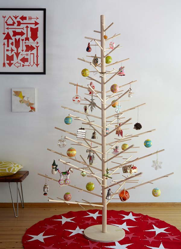 Reusable Wood Christmas Tree