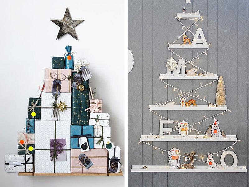 Shelf Christmas Trees Thewowdecor