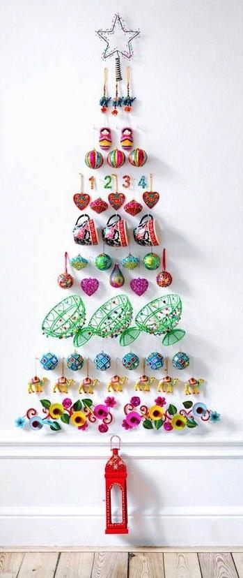 Unique Glittering Christmas Tree Decorations Thewowdecor