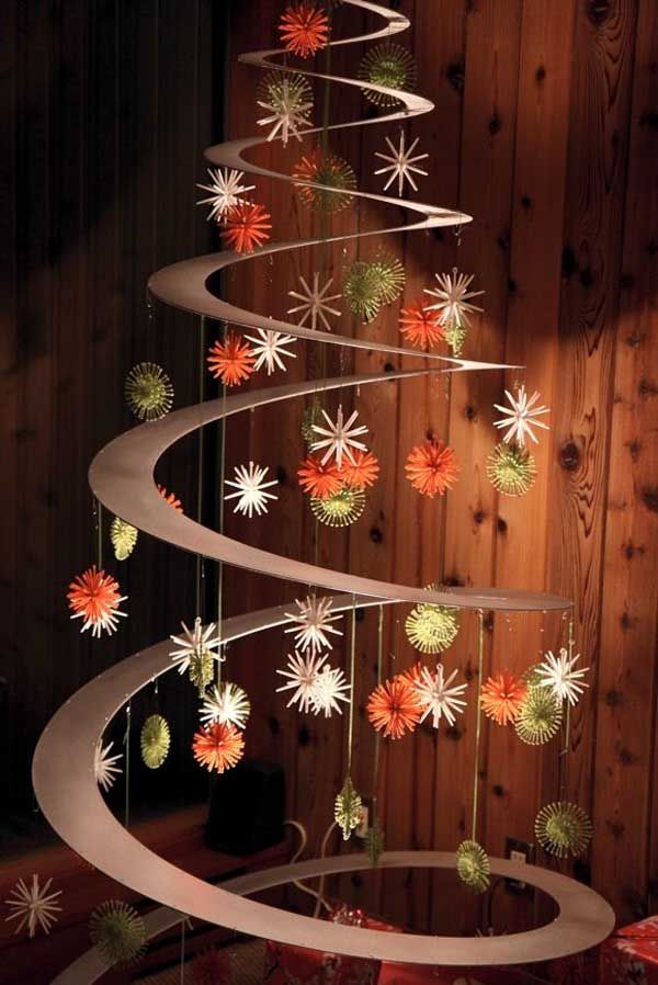 Unique and Clever Alternative Christmas Trees Thewowdecor