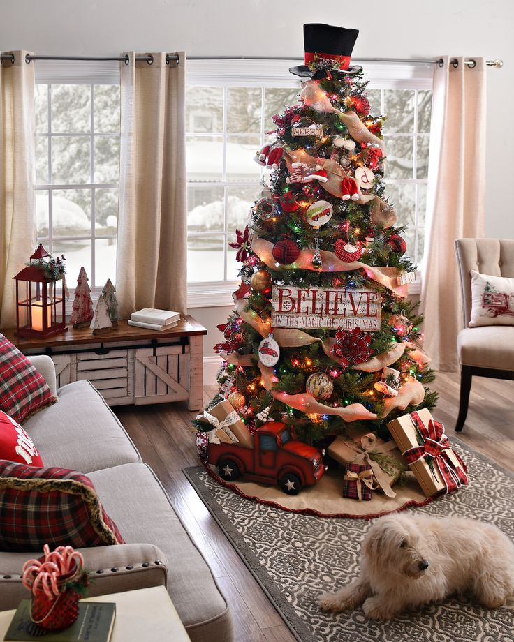 Burlap christmas tree thewowdecor