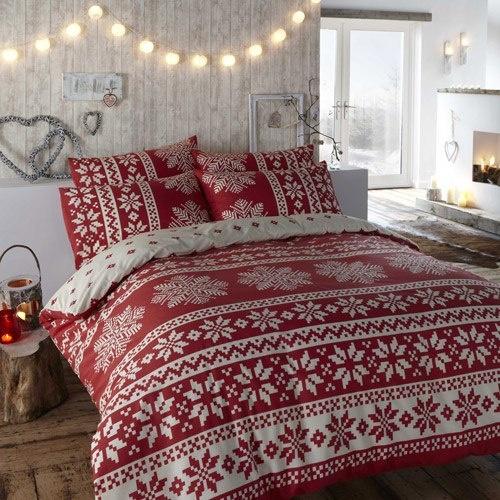 Christmas Bedroom Decor Ideas thewowdecor (25)