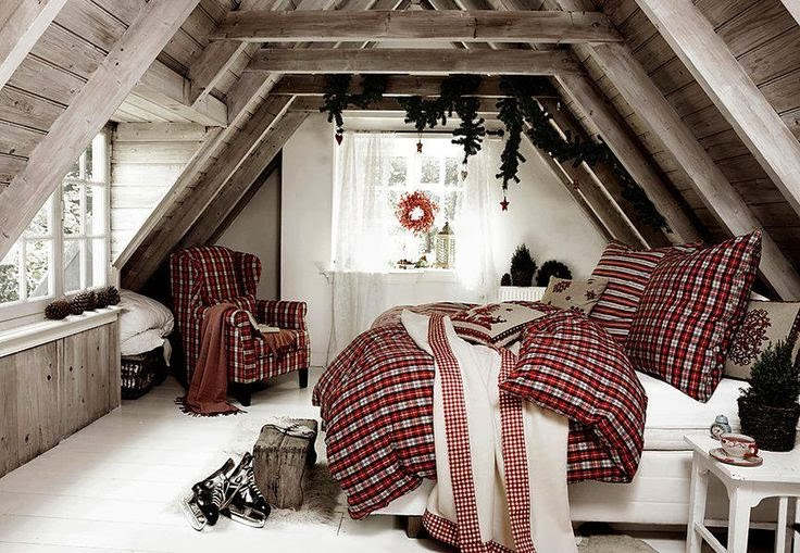 Christmas Bedroom Decor Ideas thewowdecor (31)