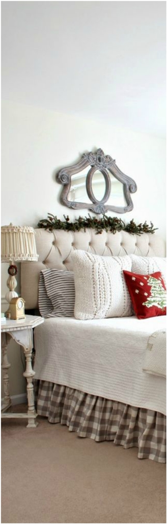 Christmas Bedroom Decor Ideas thewowdecor (4)