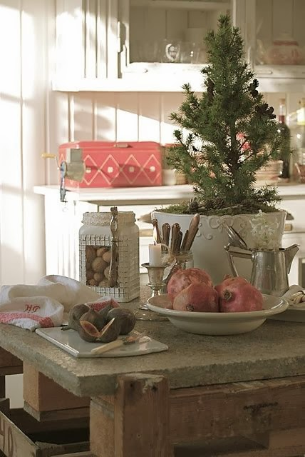Christmas Kitchen Decor Idea