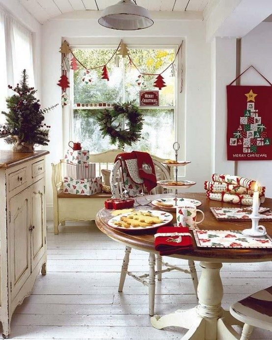 Christmas Kitchen Decor Ideas Thewowdecor