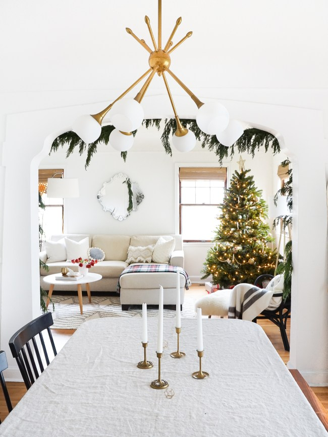 Christmas Living Room Decor Ideas thewowdecor (41)