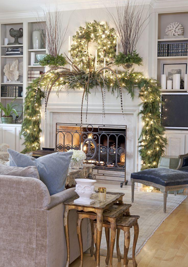 Christmas Living Room Decor Ideas thewowdecor (5)