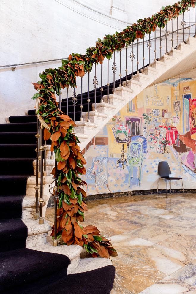 Christmas Stairs Decoration Ideas thewowdecor (11)