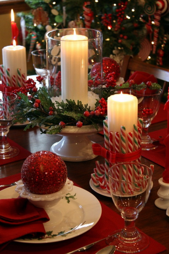 Christmas Table Centerpiece Ideas thewowdecor (28)