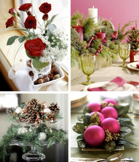 Christmas Table Centerpiece Ideas thewowdecor (9)