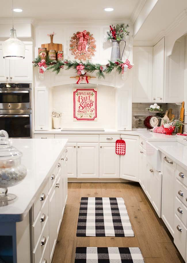 Christmas-kitchen-decorations Thewowdecor