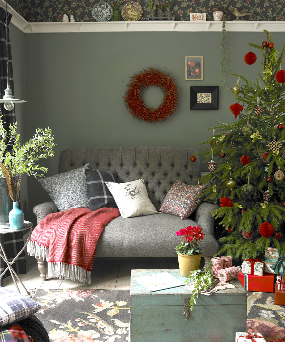 Country Christmas decorating ideas Thewowdecor