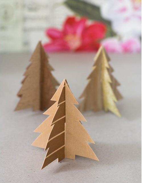 DIY Rustic Wood Christmas Decorations