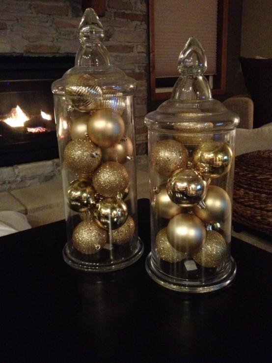 Gold Christmas Decoration Ideas (15)