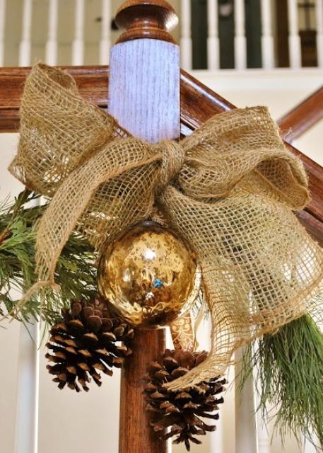 Gold Christmas Decoration Ideas (3)