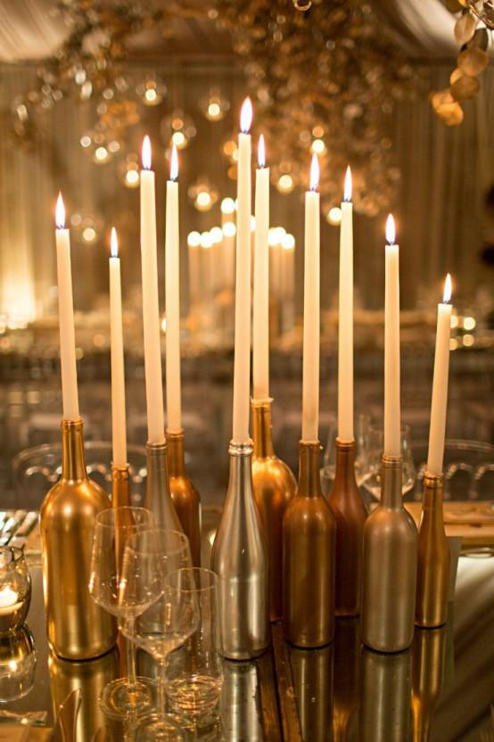 Gold Christmas Decoration Ideas (4)