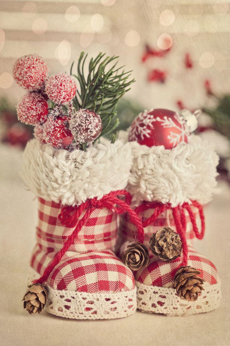Handmade Christmas Decorations Idea