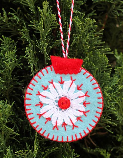 Homemade Felt Christmas Ornaments Patterns