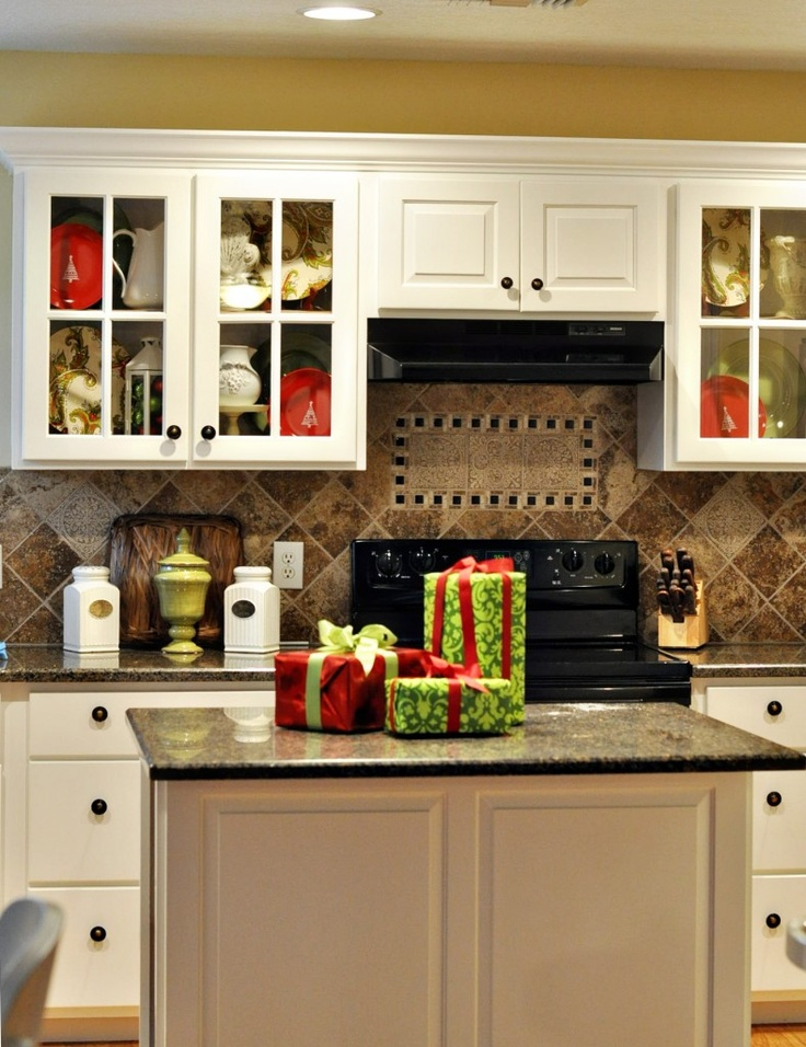 Kitchen Christmas Decorating Ideas Design