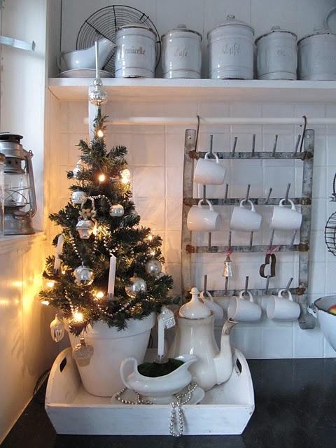 Kitchen Christmas Tree Decoration