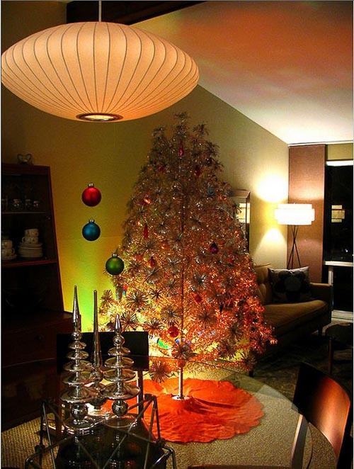 Mid Century Modern Christmas Trees