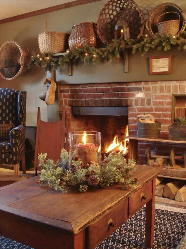 Pinterest Primitive Country Christmas