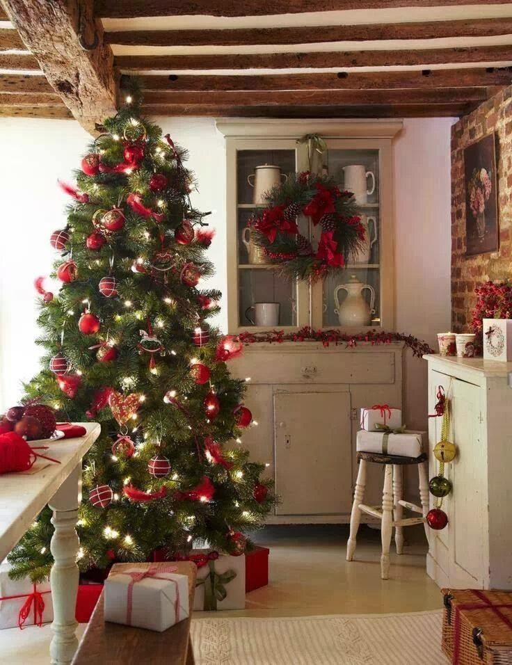 Rustic Kitchen Christmas