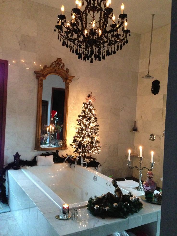 Bathroom Christmas Decoration Ideas (4)