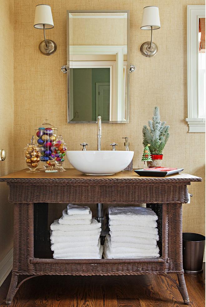 Bathroom Christmas Decoration Ideas (5)