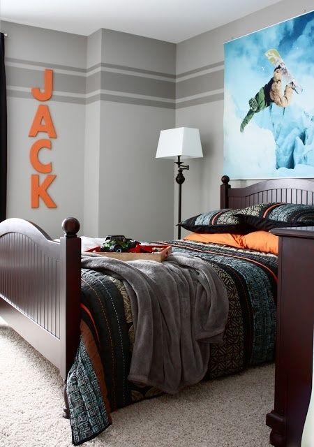Teen Boys Room Design Ideas (21)