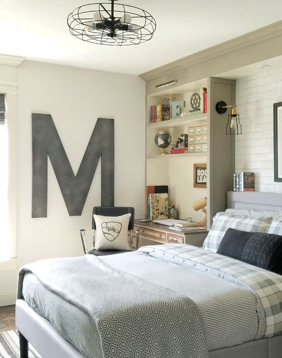 Teen Boys Room Design Ideas (30)