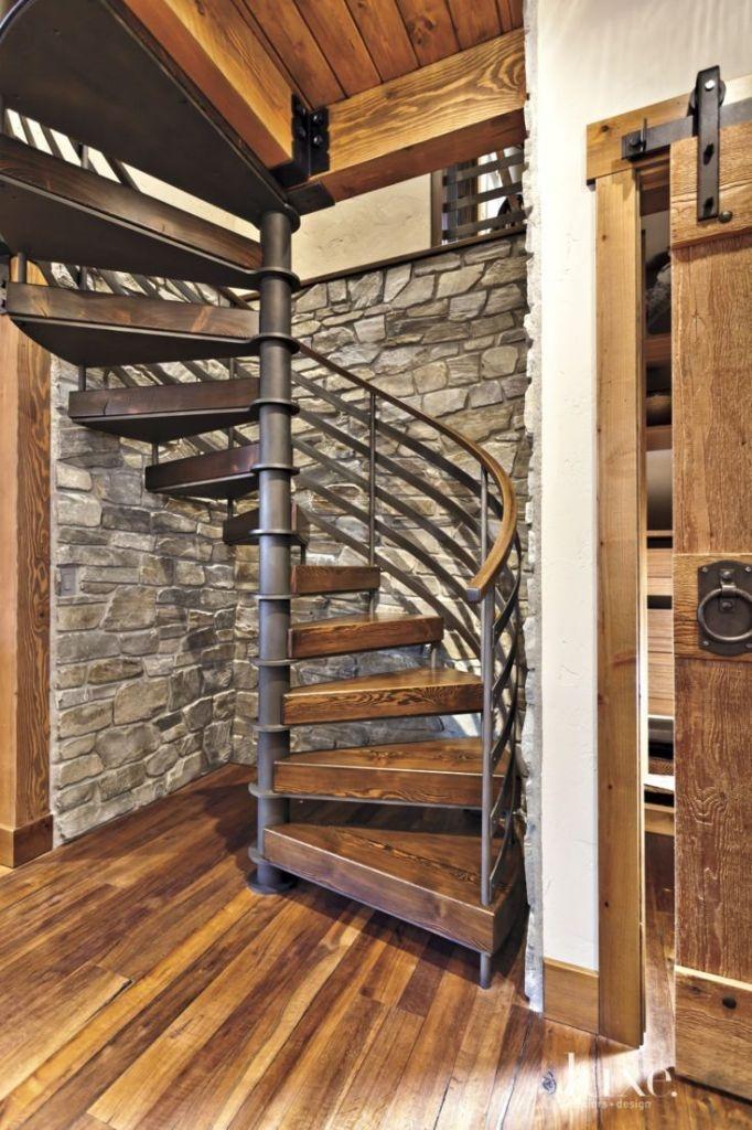 Wooden Spiral Staircase (13)