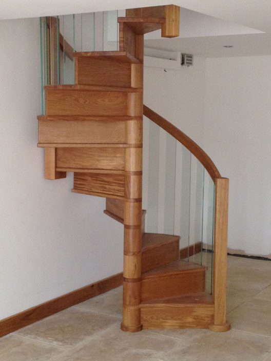 Wooden Spiral Staircase (17)