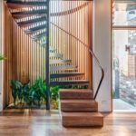 30 Wooden Spiral Staircase Design Ideas