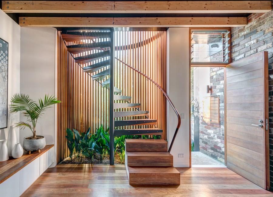 Wooden Spiral Staircase (18)
