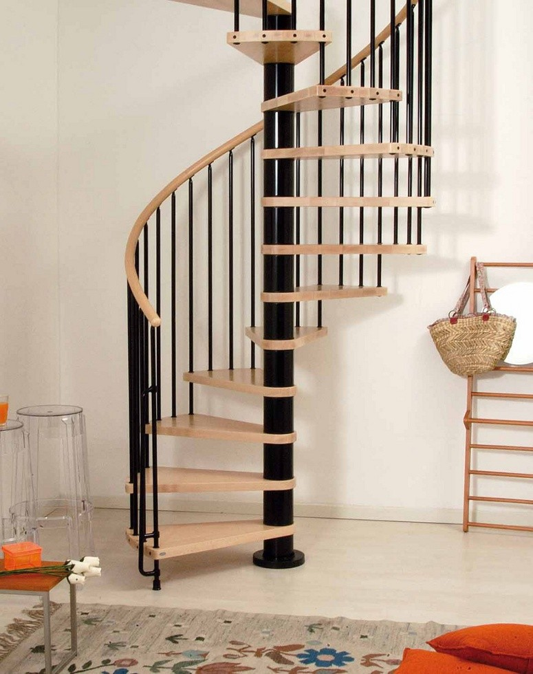 Wooden Spiral Staircase (19)