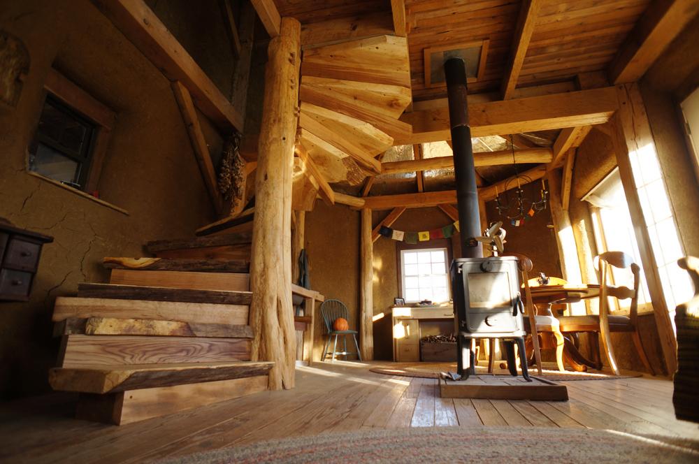 Wooden Spiral Staircase (29)