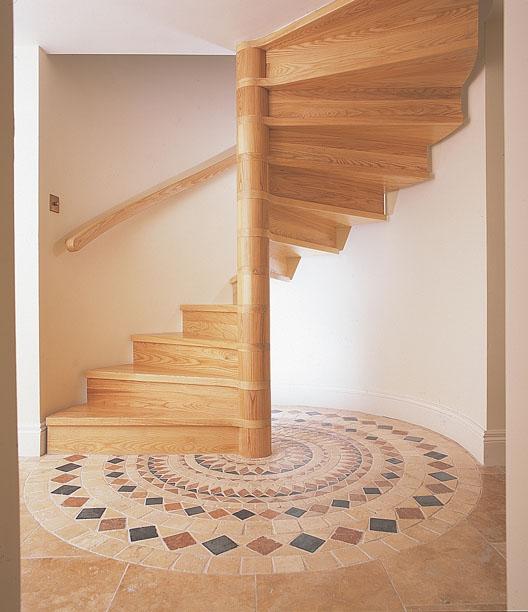 Wooden Spiral Staircase (4)