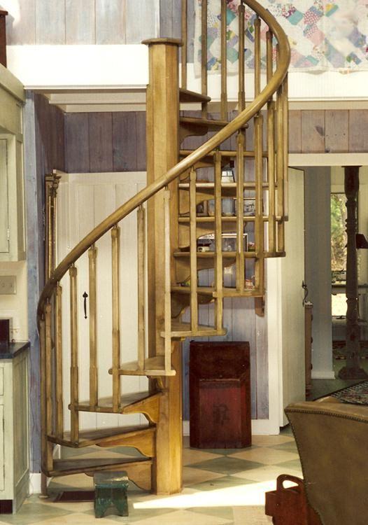 Wooden Spiral Staircase (6)