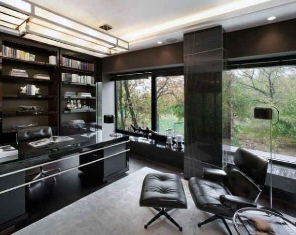 Modern Home Office thewowdecor (27)