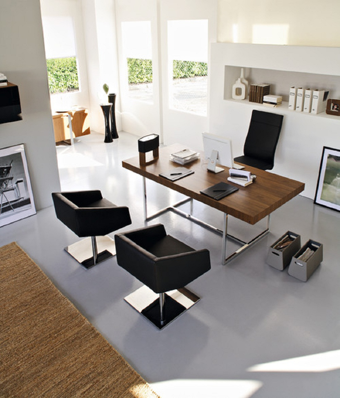 Modern Home Office thewowdecor (4)