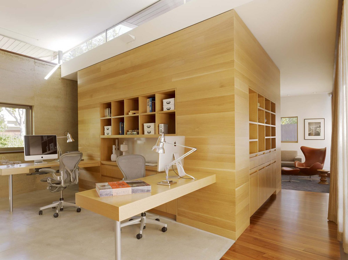 Modern Home Office thewowdecor (5)