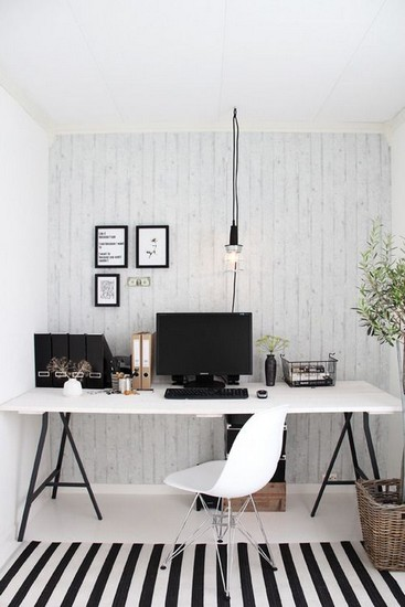 Modern Home Office thewowdecor (6)
