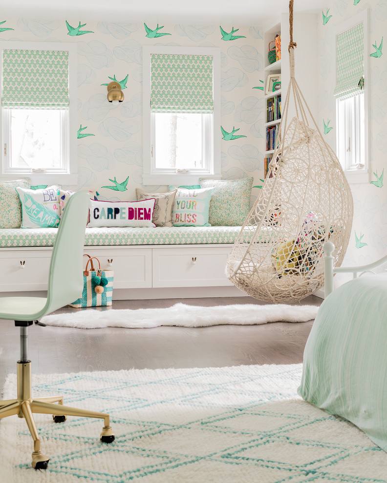Transitional kids Bedroom Thewowdecor