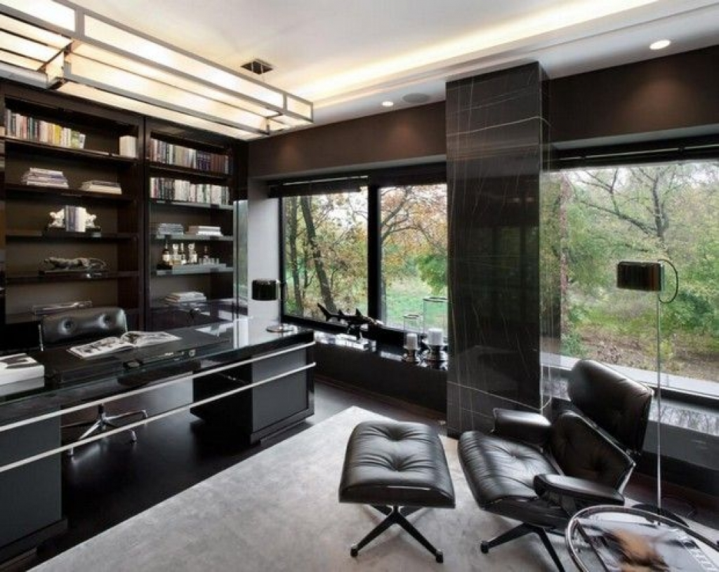 Luxury Home Office Design With Gaming Chair Thewowdecor