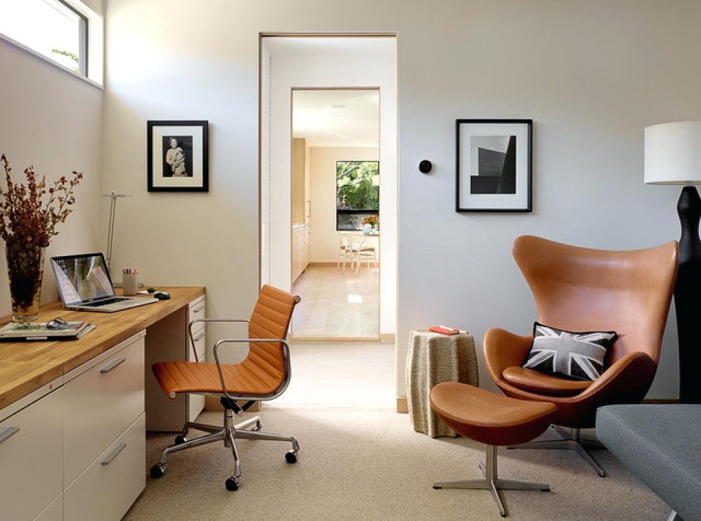 Mid Century Modern Home Office Design