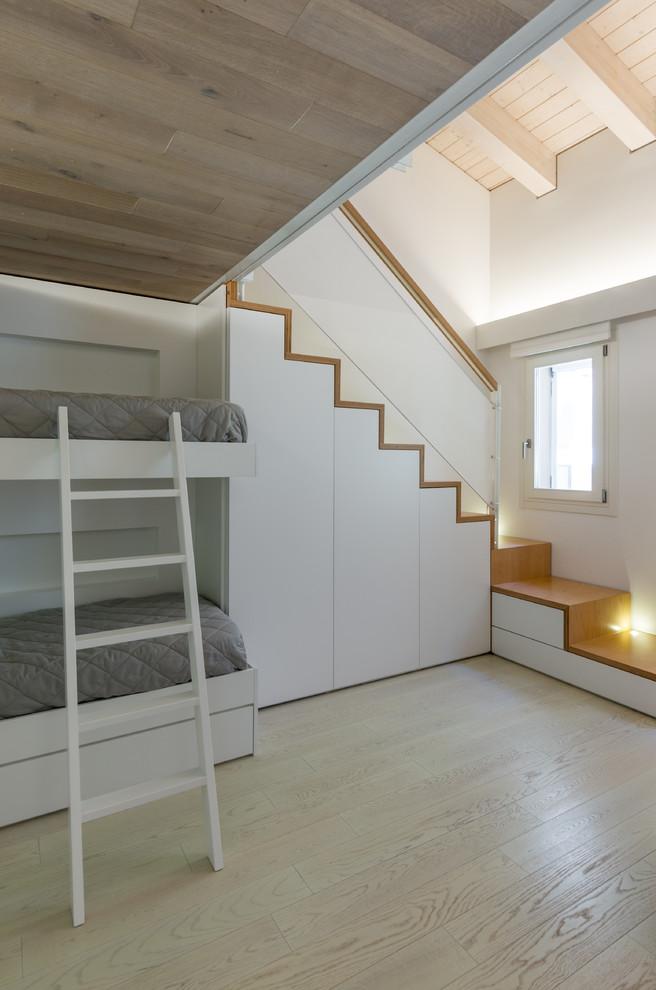 Mid-sized Minimalist Guest Bedroom Thewowdecor